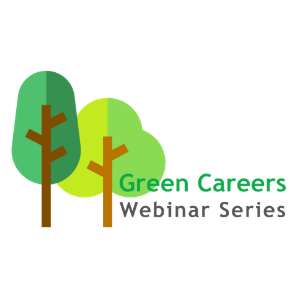Green Careers Webinar Series logo